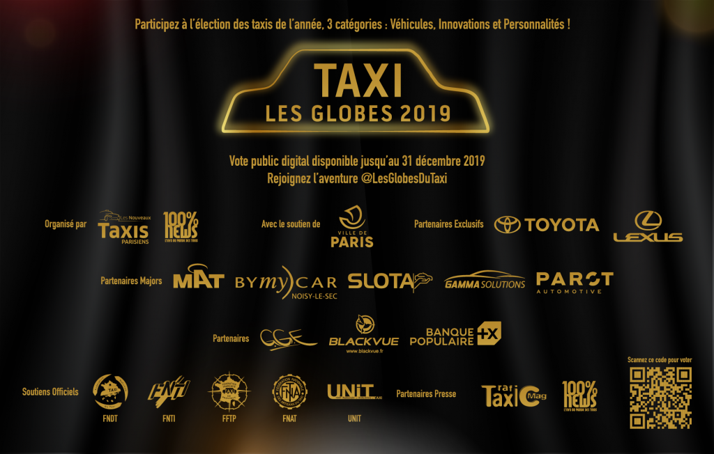 Globes Taxis 2019
